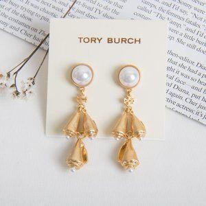 TORY BURCH Poetry of Things Pearl Earrings